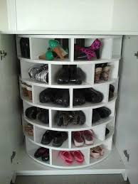 Homemade Creative Round Shoes Rack