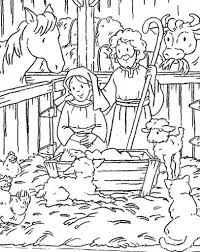 Coloring Maze And Christmas Worksheets On Pinterest Regarding Amazing Birth Of Jesus Pages Intended To