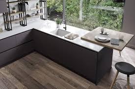 moderne loft küche modo wohnküche offene küche anthrazit