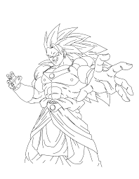 Coloriages à Imprimer Son Goku Numéro 29111