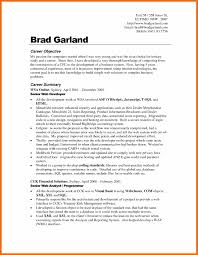 Career Change Resume Objective Samples Great In For