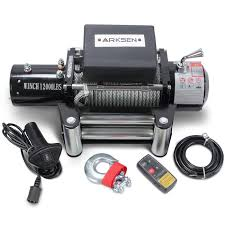 100 Truck And Winch Coupon Code 12V Electric Recovery Remote ATV Towing 12000LBS