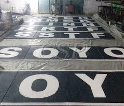 rubber tyre granules tiles groove rubber flooring roll