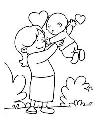Mother Coloring Page 15 10 Best Images About Mothers Day Pages On Pinterest