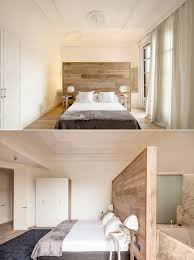 Headboard Lights For Reading by Bedroom Simple Bachelor Bedroom Features Dark Wooden Platform Bed