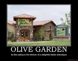 Italo Mondo It s an Italian world after all Why Olive Garden Sucks