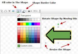 Google Docs Drawing Basics Of Shapes