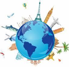 World Travel Symbols Free Vector In Adobe Illustrator Ai AI