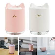 usb tragbare mini luftbefeuchter mit nachtlicht funktion für