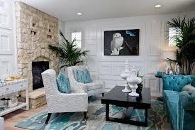 Beach Living Room Design