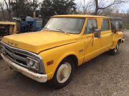 1969 GMC 3500 Crewcab 4 Door Stepside Pickup Barn Find | Barn Finds ... Customizing 671972 Chevrolet Gmc Trucks Hot Rod Network Image Result For 1969 Gmc Pick Up Poster Classic Trucks 5500 Grain Truck Item K4853 Sold December 2 Ag The Blazer K5 Is Vintage Truck You Need To Buy Right 1966 Ck K1000 Pickup Sale 4648 Dyler 2500 3345 Other Models Sale Near Cadillac Michigan 49601 1500 Classiccarscom Cc1022339 1950 3100 Frame Off Restoration Real Muscle 135997 C10 Rk Motors And Performance Cars