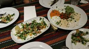 dips cuisine salad and assorted dips picture of ottoman