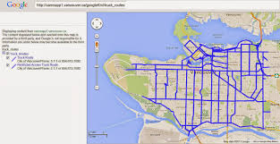 100 Truck Route Map Blog Borg Collective Translink Vehicles May Use The Lions Gate