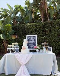 Time To Drink Champagne Dance On The Tables At This Glam Wedding Outdoor TablesWedding Dessert