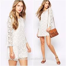 100 cotton white crochet dress long sleeve handmade crochet dress
