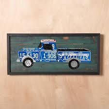 100 Truck License Plate Wall Art Robert Redfords Sundance Catalog