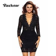 online get cheap long sleeve short black dress aliexpress com