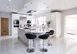 KitchenSmall Elegant White Kitchen Cabinets Desing Combine Black Countertop Also Modern Appliances