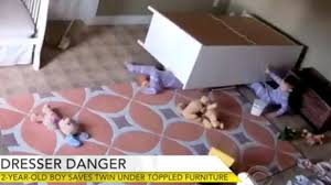 Dresser Wi Weather Forecast by Video Of Dresser Falling On Twin Boy Is Heart Stopping Reminder Of