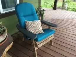 Squirrel Feeder Adirondack Chair by Sunbrella Adirondack Cushion Cushions Plow U0026 Hearth
