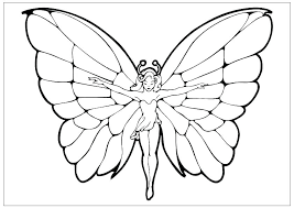 Butterflies Coloring Page Butterfly Pages For Adults