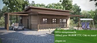 maison ossature bois cle en maison bois cle en pas cher 28 images kit maison ossature bois