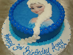 10 Round Elsa Cake Frozen