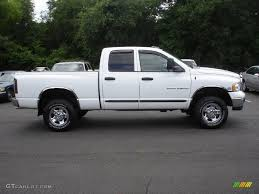 Bright White 2003 Dodge Ram 2500 SLT Quad Cab 4x4 Exterior Photo ...