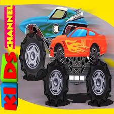 100 Kids Monster Trucks Truck Vs Truck Vehicle Wars For Kids