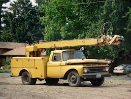 1962 Ford F-350 Bucket Truck | The Definition Of A