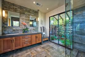 bathroom showcases nature two ways kitchen bath design news
