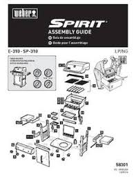 Patio Bistro 240 Assembly Instructions by Weber Spirit E 310 Lp Black Gas Grills Ace Hardware