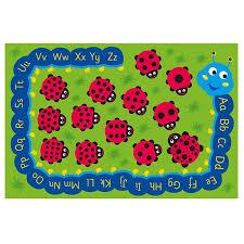 Kalokids Back to Nature Ladybug & Alphabet Outdoor Mat