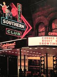 Vintage shot of Southern Club in its heyday on Bathhouse Row in
