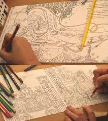 Coloring Pages Embracing Alice In Wonderland