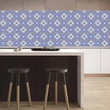 moderne marokko fliesen pvc wasserdichte selbstklebende tapete möbel küche badezimmer diy fliesen wandaufkleber