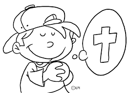 Child Praying Coloring Page Best Of