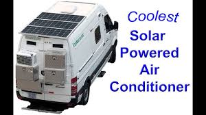 100 Vans Homes Solar Tesla Lithium Battery Powered Air Conditioner For Camper RVs Tiny Pet Safe