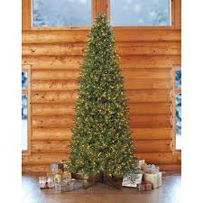 Slim Pre Lit Multicolor Christmas Tree by 12 U0027 Artificial Pre Lit Christmas Tree