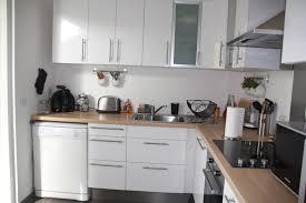 cuisine blanc et bois exceptional cuisine blanche et inox 4 exciting cuisine blanche
