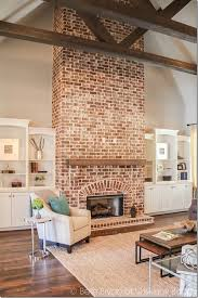 Living Room With Fireplace In The Middle by The 25 Best Brick Fireplaces Ideas On Pinterest Brick Fireplace