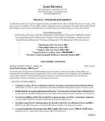 Sample Resume Banking Project Description Plus Manager