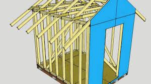shed 8 x 10 free 8 x10 shed plans youtube