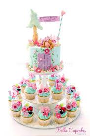 Garden Fairy Cake And Cupcakes