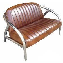 canape cuir vintage canapé inox cuir vintage la salle des ventes du
