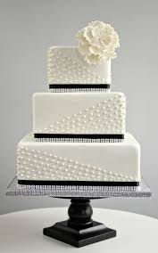 49 Amazing Black And White Wedding Cakes