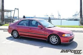 1995 Honda Civic Daily Driver Suspension Upgrade & Image