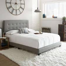 Wood Platform Bed Frame Queen by Platform Beds U0026 Headboards Bedroom Furniture The Home Depot