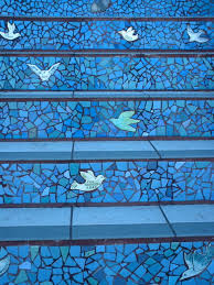 16th Ave Tiled Steps Project by Walkin In The Mission In The Rain 16th Avenue Tiled Steps