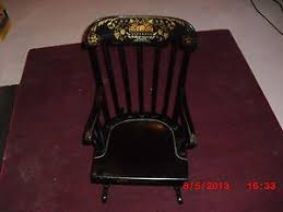 Nichols And Stone Windsor Rocking Chair by Vintage Nichols U0026 Stone Windsor Comb Back Black Arm Chair On Popscreen